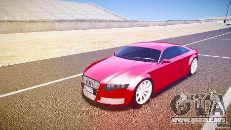 Audi Nuvollari Quattro para GTA 4 left