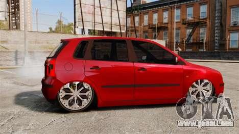 Volkswagen Polo Edit para GTA 4 left