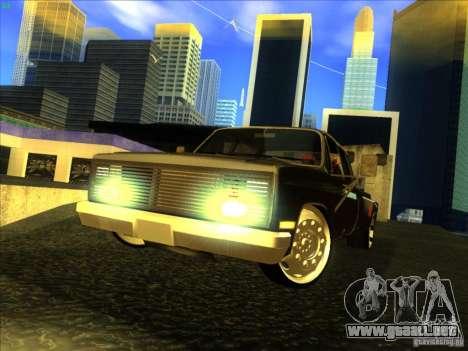 Chevrolet Silverado Towtruck para GTA San Andreas left