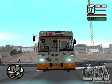 LIAZ 5283.70 para GTA San Andreas vista posterior izquierda