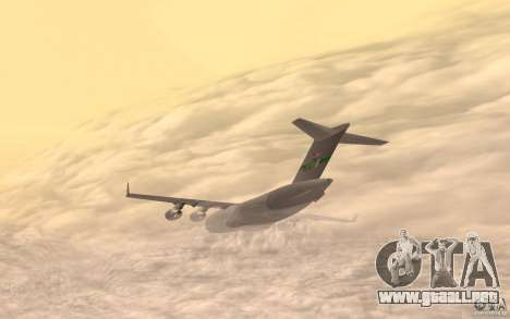 C-17 Globemaster III para GTA San Andreas left