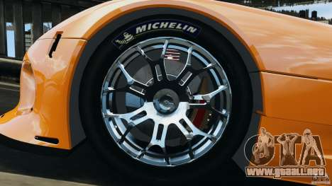SRT Viper GTS-R 2012 v1.0 para GTA 4 vista interior