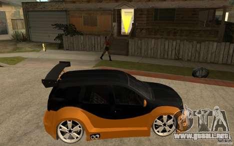Dacia Duster Tuning v1 para la visión correcta GTA San Andreas