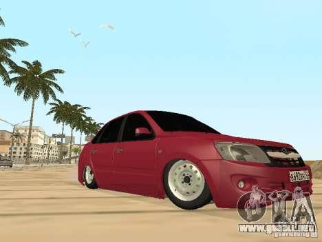 Lada Granta para la vista superior GTA San Andreas