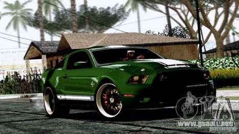 ENB By Wondo para GTA San Andreas sucesivamente de pantalla