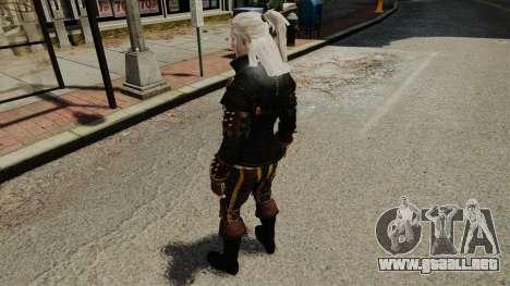 Geralt de Rivia v1 para GTA 4 quinta pantalla