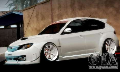 Subaru Impreza WRX Camber para el motor de GTA San Andreas