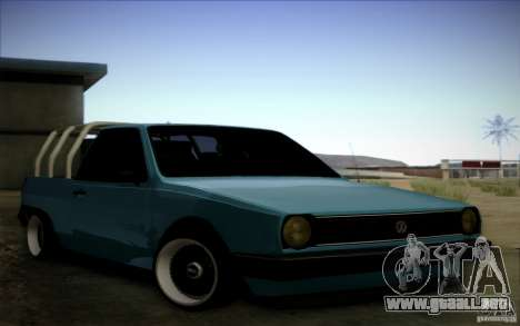 Volkswagen Polo Pickup para GTA San Andreas left