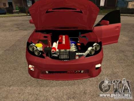 Toyota Camry 2005 TRD para GTA San Andreas vista hacia atrás