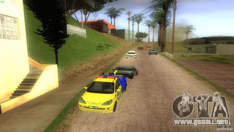 Toyota Avanza Towtruck para visión interna GTA San Andreas