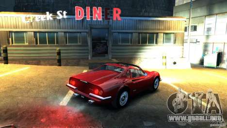 Ferrari Dino 246 GTS para GTA 4 left