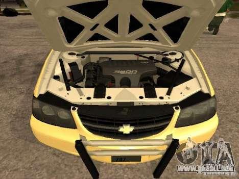 Chevrolet Impala Police 2003 para la visión correcta GTA San Andreas