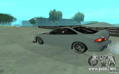 Acura Integra Type-R para GTA San Andreas vista posterior izquierda