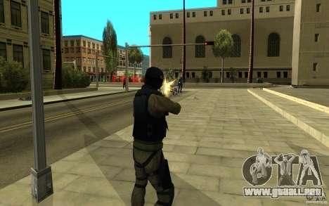Fuerzas especiales-CJ para GTA San Andreas séptima pantalla