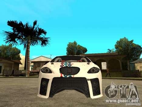 Seat Leon Cupra Bound Dynamic para la visión correcta GTA San Andreas