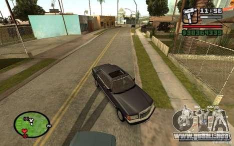 CAMZum beta disponible de GTA 5 para GTA San Andreas tercera pantalla