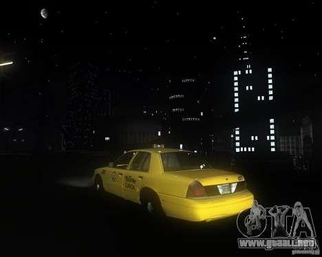 Enbsereis 0.74 Dark para GTA San Andreas sucesivamente de pantalla