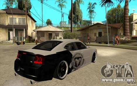 Dodge Charger SRT8 Tuning para la visión correcta GTA San Andreas