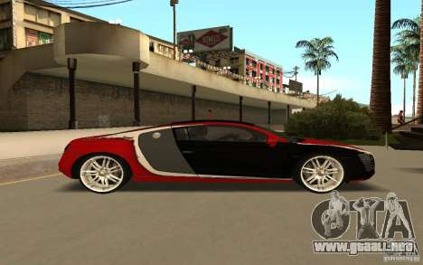 Audi R8 Le Mans Quattro para visión interna GTA San Andreas
