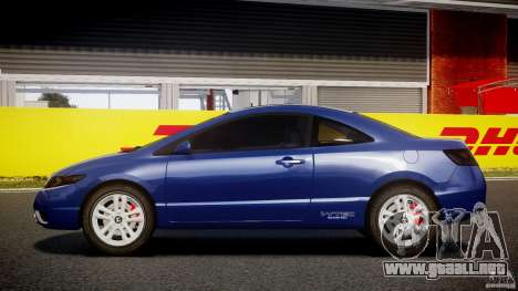 Honda Civic Si Coupe 2006 v1.0 para GTA 4 left