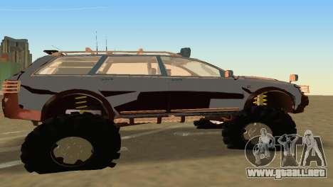 Audi Allroad Offroader para GTA Vice City vista lateral izquierdo