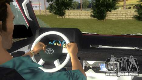 Toyota Town Ace-Tuning para GTA Vice City vista lateral izquierdo