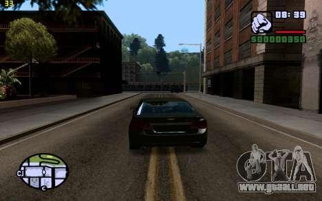 ENBSeries by VadimSpiridonov para GTA San Andreas tercera pantalla