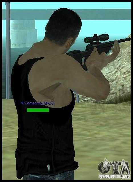 [Point Blank] L115A1 [Black] para GTA San Andreas tercera pantalla