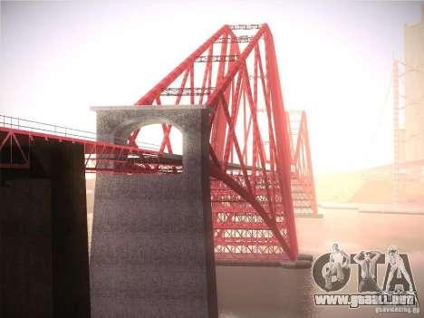 Orange ENB by NF v1 para GTA San Andreas décimo de pantalla