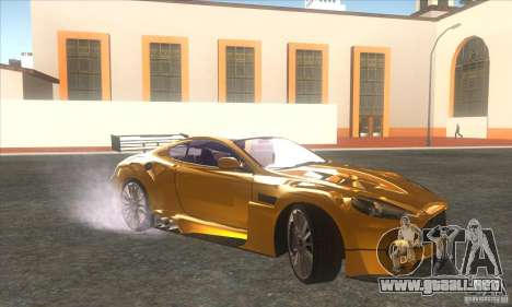 Aston Martin DB9 MW para GTA San Andreas left