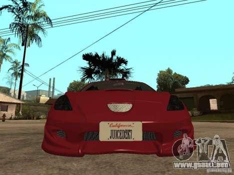 Toyota Celica Veilside para la visión correcta GTA San Andreas