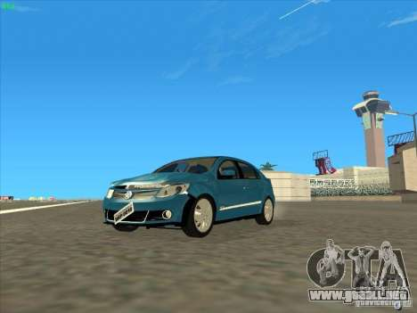 Volkswagen Voyage Comfortline 1.6 2009 para visión interna GTA San Andreas