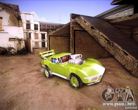 Chevrolet Corvette drag para GTA San Andreas