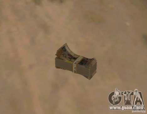 Dinero kazajo para GTA San Andreas
