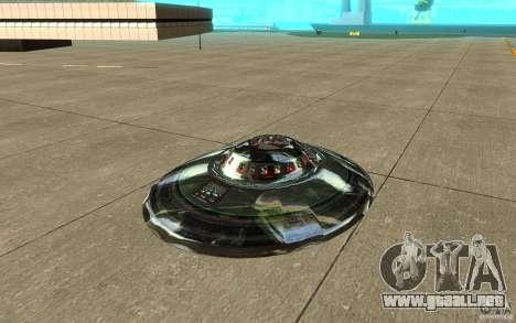Real UFO para GTA San Andreas left