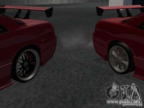 Nissan Skyline R32 Tuned para vista inferior GTA San Andreas
