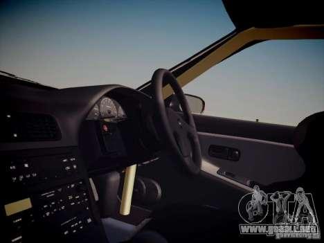 Nissan Silvia S13 Daijiro Yoshihara para visión interna GTA San Andreas