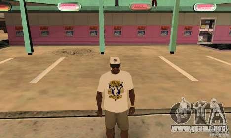Gorra John Cena para GTA San Andreas tercera pantalla