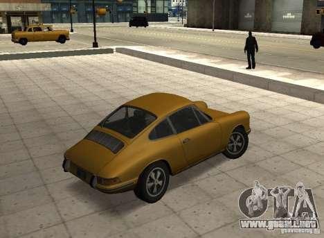 Porsche 911 S para GTA San Andreas left