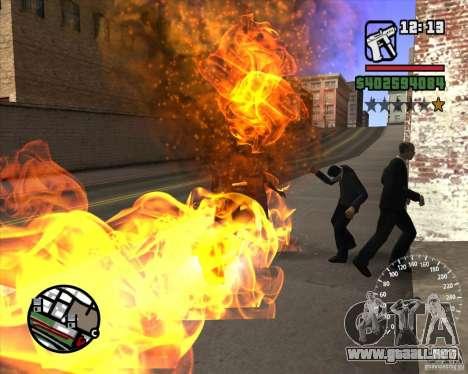 Ghost Rider para GTA San Andreas tercera pantalla