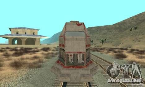 Un buen tren, Star Wars para GTA San Andreas left