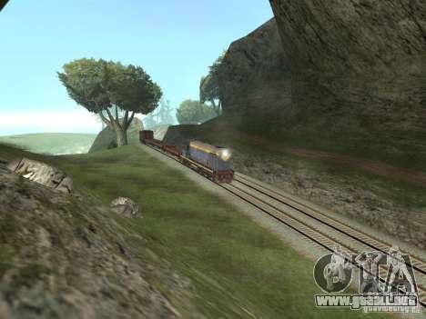 TÈM1M-1836 para GTA San Andreas vista hacia atrás