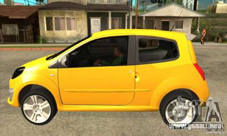 Renault Twingo RS 2009 para GTA San Andreas left