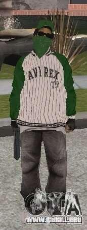 Nuevos aspectos Grove Street para GTA San Andreas quinta pantalla
