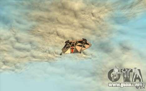 T-47 Snowspeeder para visión interna GTA San Andreas