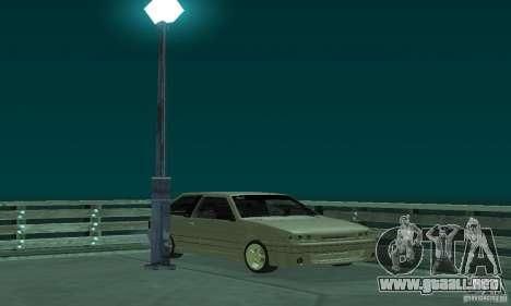 VAZ 2113 ADT arte Tuning para GTA San Andreas vista hacia atrás