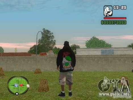 NEW Ryder para GTA San Andreas segunda pantalla