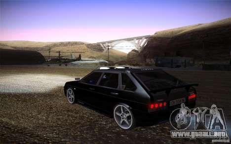 VAZ 2109 carbono para GTA San Andreas left