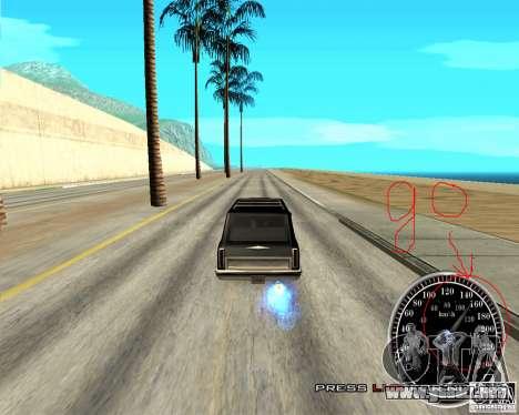Perenniel Speed Mod para GTA San Andreas segunda pantalla