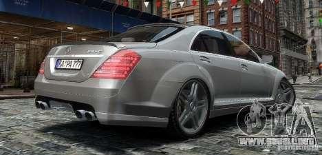 Mercedes Benz S63 Amg para GTA 4 left